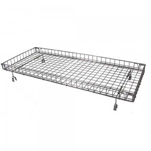 Rectangular Basket Top For Clothing Rack