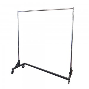 Black Base Z Clothing Rack