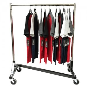 "Z Clothing Rack 41"" with Black Base"