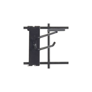 "Gridwall Scanner Hook 4"" Black"