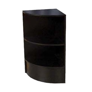 Curved Corner Filler Gloss Black