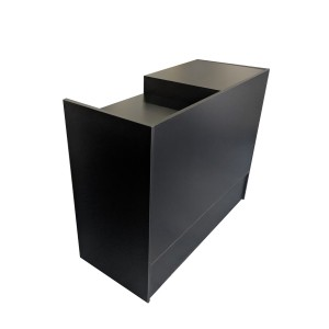 "Checkout Register Stand 48""  Black  2"