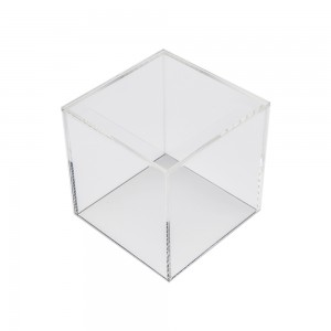 U Shaped Acrylic Cube