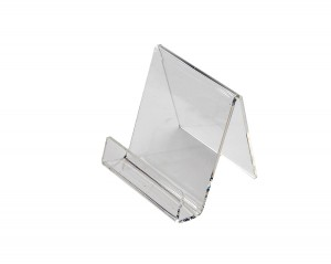 Clear Acrylic Easel With Lip 4""