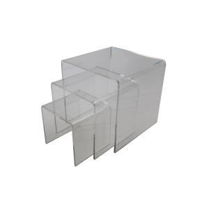 "Acrylic Risers 6""x 8"" x 10"" Set of 3"