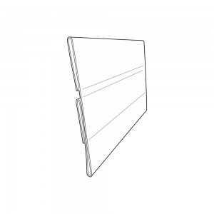 "5.5"" Sign Holder For Gondola Shelving"