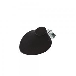 Small Slatwall Black Velvet Necklace Bust