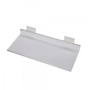 Acrylic Slatwall Shelf 10""