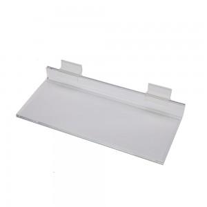 """Acrylic Slatwall Shelf 10"""""""
