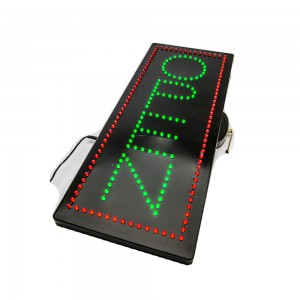 LED Open Sign Vertical