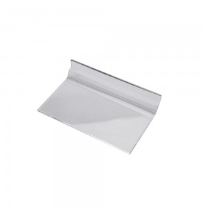 "Acrylic Slatwall Shelf 6"" x 3"""