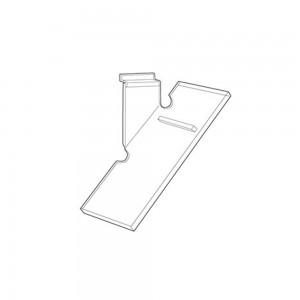 Shoe Shelf Clear Acrylic: 2075