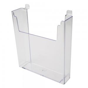 """Acrylic Slatwall Stylized Literature Holder 11 3/4"""""""