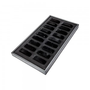 Black Velvet 18-Mount Jewelry Tray