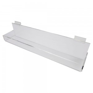 Acrylic Slatwall Display Tray 2'