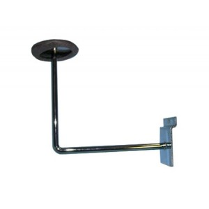 Slatwall Hat Bracket Chrome: SW-ML