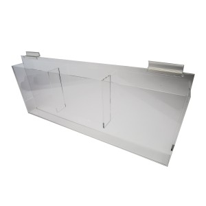 "Brochure Holder 8"" - 1/2"" x 11"" Clear"