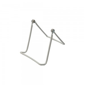White Wire Easel 9""