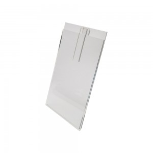 "Acrylic Gridwall Sign Holder  8 1/2"" X 11"""