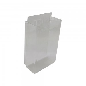 Gridwall Acrylic Brochure Holder No Seams