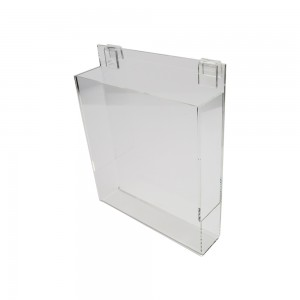 Acrylic Gridwall Literature Holder With Gaps 11""