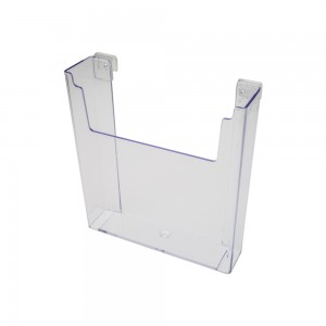 Acrylic Gridwall Stylized Literature Holder With Gaps 9 1/2""