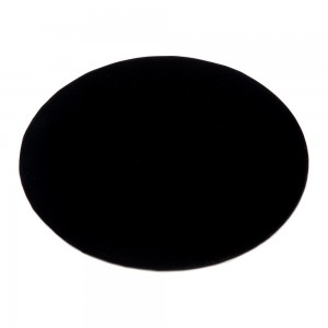 Black Velvet Jewelry Pad 7""