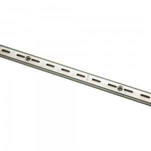Metal Single Slotted Standard Universal 8'