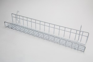 White Gridwall Tray 23""