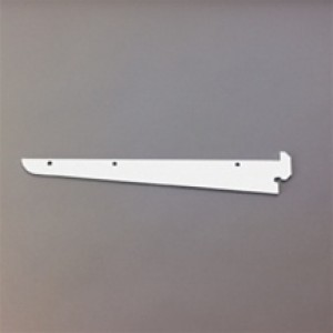 """Heavy duty 14"""" shelf bracket for standards. 1/8"""" thick steel"""