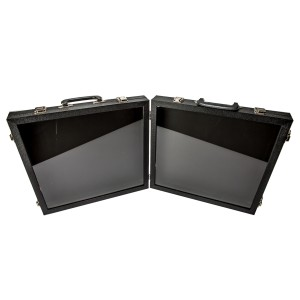 Salesman Travel Case With Two Part Buckle