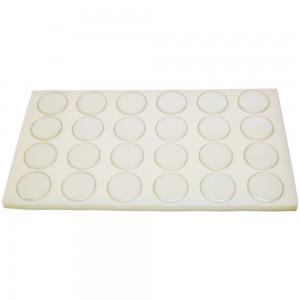 Twenty-four Gem Jars With White Foam