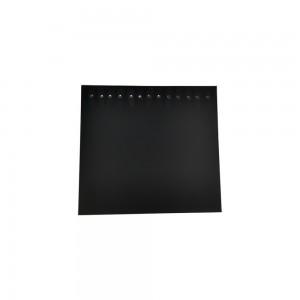 """Black Velvet Jewelry Pad with 13 Snaps 15.5"""""""
