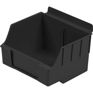 "Slatwall Box 4 1/2"" x 5 1/2"" x 3 1/2"" Big Black: BOX1-BK"