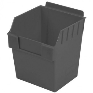 """Plastic Slatwall Bins 6"""" x 6"""" x 7"""" BOX3 - Multiple Color Choices Starting At"""