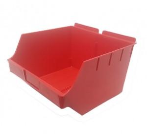 """Slatwall Box 11"""" x 11"""" x 7"""": BOX4-RD"""