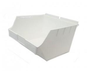 """Slatwall Box 11"""" x 11"""" x 7"""": BOX4-WH"""