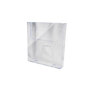 "Wall Mount Brochure Holder 6"" W x 6.5"" H"