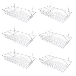 """Wire Basket 24"""" x 12"""" x 4"""" Chrome 3"""