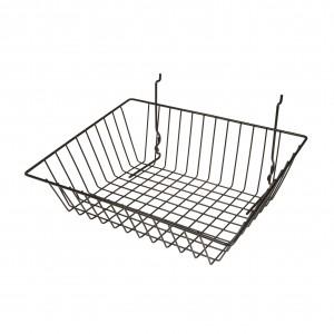 "Grid Slatwall Basket 15"" x 12"" x 5"" 1"