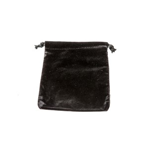 """Soft velvet drawstring pouch. 1 3/4"""" x 2"""""""