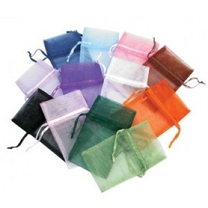 Organza Drawstring Pouches Mixed Colors 1