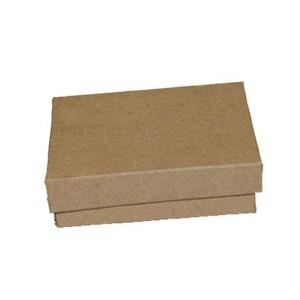 Brown Kraft cotton filled boxes. 3.25x2.25: