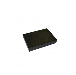 """Box 3.5"""" x 3.5"""" x 1"""" Black Swirl: BX2833SB"""
