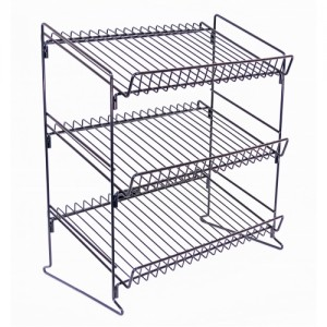 Counter Wire Display Rack Black 20""