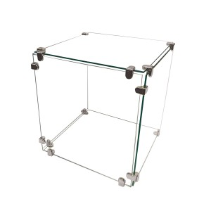 "Glass Cube Display 14"" x 14"""