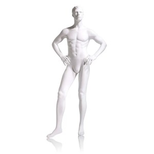 Male Mannequin Hands on Hips