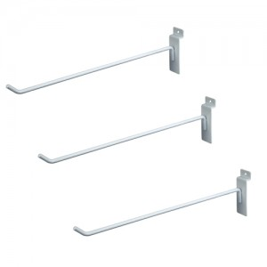 "Slat Hook White12"" 96 1"