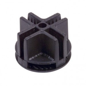 Grid Connector Plastic Black