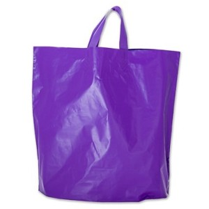 Bag 12 x 10 x 4 Hot Purple